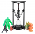 Made in China Sinis T1 3d PrinteDIY Kit House-hold Delta 3d Printer Multi-functional 3d Printer Machine with Laser Engraving Options