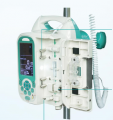 Bomba de bomba/jeringa de infusión portátil de alta calidad con CE/ISO LINS-7