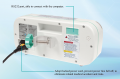 High Quality Portable Micro Infusion Pump/Syringe Pump With CE/ISO LINZ-9