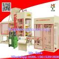 QT concreto de edificio de 6-15 bloque que hace la máquina con la estación de presión hidráulica