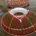 Green Foldable Crab Pot Trap Crab Pot Wire