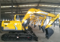 Hydraulic excavator rc excavator china factory price BD80