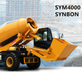 Αυτο-φόρτωσης μπετονιέρα SYM4000