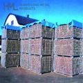 Collaposible save-space stack forklift metal galvanized zinc wire mesh cage