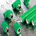 Зеленые трубы PPR и фитинги PPR