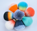 High Quality Good Price Fan Shape Handmade Two Band China Finest Badger Shaving Brush Knot
