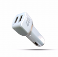 827 3.4A Dual USB car charger adapter Manufacturer fast car charger for Handphone and Tablets