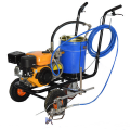Factory price hand push cold spray airless road track line marking paint machine