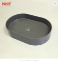 Sanitary Ware Luxury Integral Counter Stone Hand Wash Basin