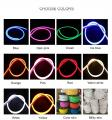 Flexible LED Flex Silicone Neon Outdoor 220V White 8 × 16mm