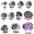Underwater LED Light RGB Water Fountain Underwater Light led
