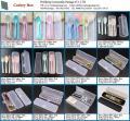 WEISHENG Travel Flatware Tableware Fork Knife Chopsticks Spoons Box Case Plastic Cutlery Set