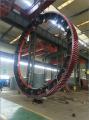 Cast Alloy Steel Large Gear 45 Module Girth Gear for Ball Mill Rotary Kiln