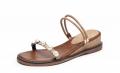 Cool summer-brown sandal