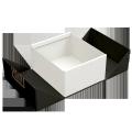 Custom printing luxury packaging fold up retail box double door