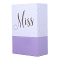 Custom design professional hand made hard paper perfume bottle packaging boxes with insert
