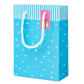 High quality ivory paper cute packaging gift bag for kids