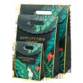 Custom luxury die cut handle paper hand bag for gift packing