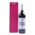 Custom Print red Gift Paper Wine carrying Bags
