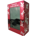 Custom Cardboard Luxury Candle Packaging Box with clear window