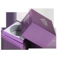 Custom square shape rigid paper packaging perfume box good quality