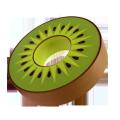 Custom CMYK printing luxury  ring shape kiwi fruit cookie packaging box for retail