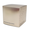 Luxury silver fancy paper die cut cosmetic packaging box cube box