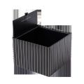 Custom top open packaging luxury square shaped Cardboard flower box paper