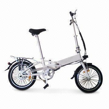 E-bike with Li-ion Battery and 18kg Weight, Measures 831 x 367 x 654mm