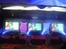 Order Rental, hire of projection equipment