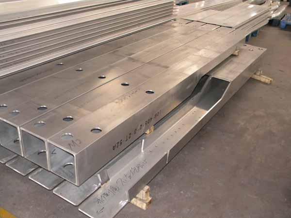 预定 Aluminum parts for vehicle and railways