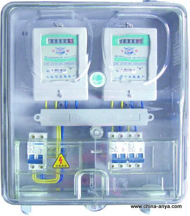预定 提供PC材质透明单相电表箱