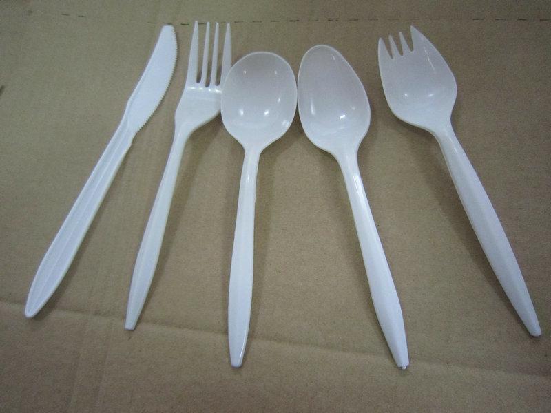 预定 Plastic cutlery