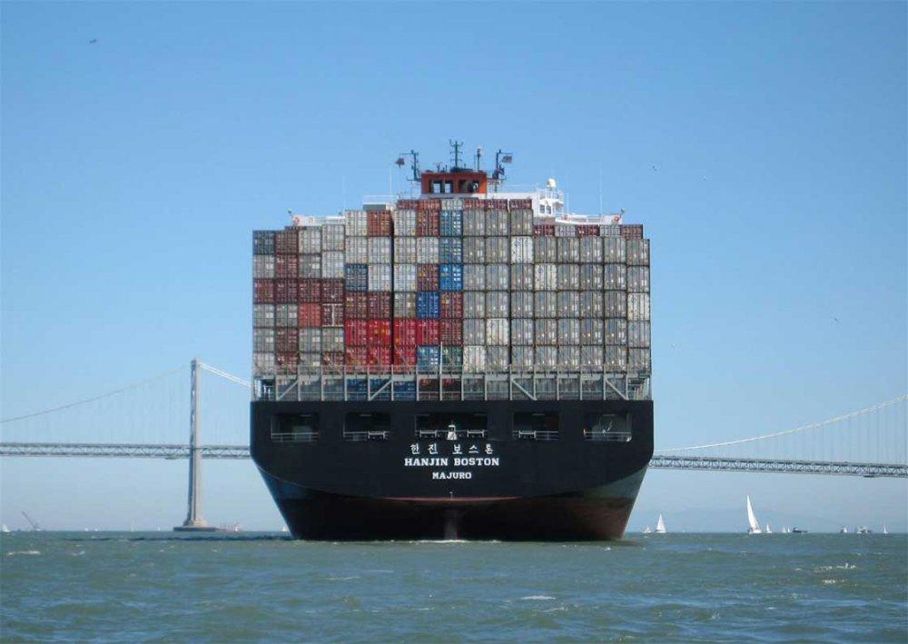 预定 海上运输。