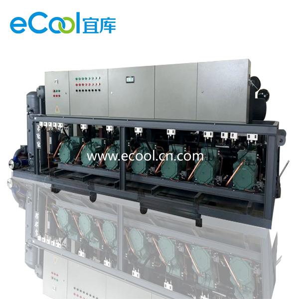Order Piston Type Multi-Compressor Unit Special For Display Cabinet
