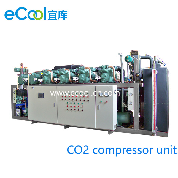 Order CO2 And Freon Cascade Compressor Unit