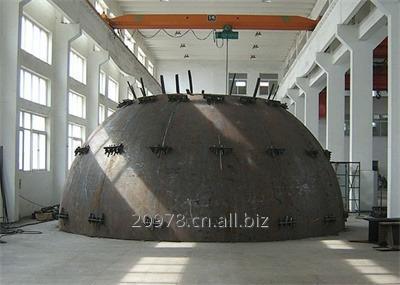Order SA516Gr60-SA516GR70 tank heads-dished ends