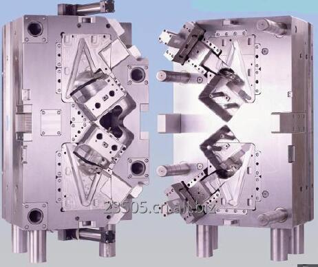 Order Two plate mould-three plate mould