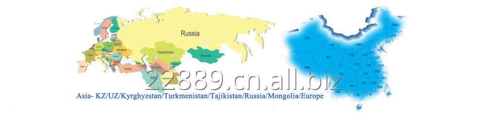 Order Железнодорожные перевозки из Китая в Центральную Азию