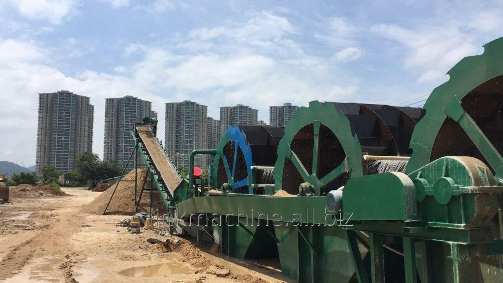 Order Sand washing production line
