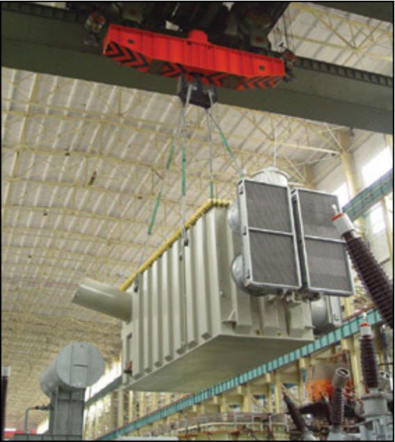 预定 Converter transformer in hoist for Three Gorges-Changzhou DC transmission project