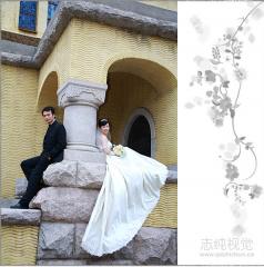 青岛海景婚纱 全程一对一拍摄 浪漫的婚纱照 致纯视觉