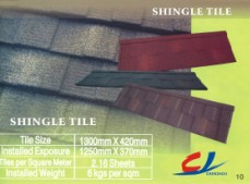 Roofing metal tile introduction
