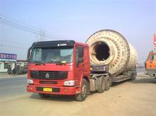 Outsized cargo transport service