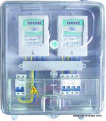 提供PC材质透明单相电表箱
