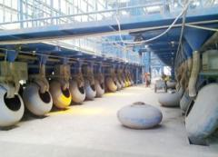 Proppant ceramsite production line