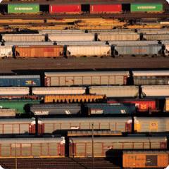 铁路货物运输服务 Railway freight