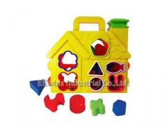 Puzzle blocks toys house