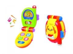 Baby toys mobile phone with music and lights