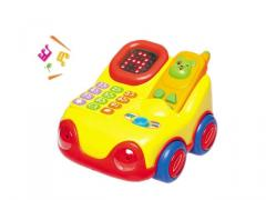 Baby toys telephone with music and display